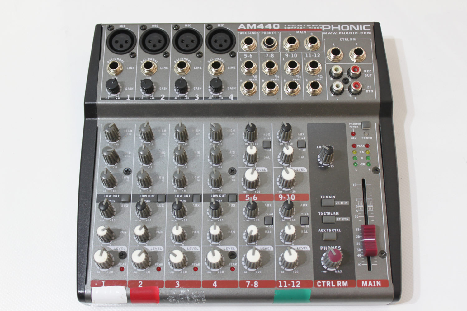 Mixette micros 6 voies Phonic